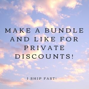 Bundle of 3 or more and save 20%